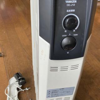 山善 オイルヒーター - 家電