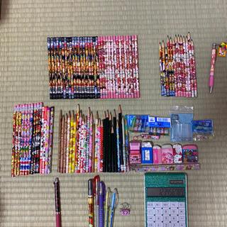 【値下げ】鉛筆、色ペン、電卓などなど 新品と未使用あり