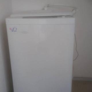 洗濯機 無料であげます。