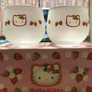 値下げ✨【新品】キティ 夏用 グラス 2個入り