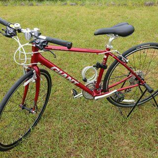【売ります】クロスバイク「GIANT ESCAPE 2015年モ...