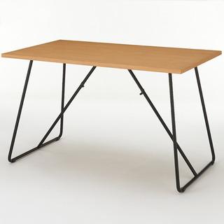 無印良品 折りたたみテーブル・幅120cm・オーク材 中古美品