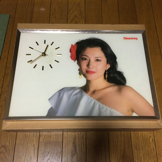 激レア‼︎ヴィンテージ 日産 昭和57年 時計パネルセット 松坂慶子 AD-1 - 坂戸市