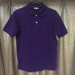 UNIQLO ポロシャツ紫 メンズ Mサイズ
