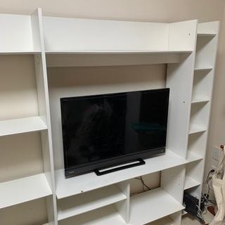 【IKEA】 はめ込み型テレビ台