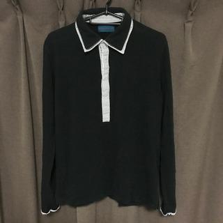RAGEBLUE長袖ポロシャツ黒 Lサイズ