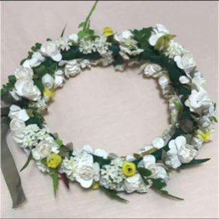 ハワイ 本格的な花冠♡ お花ぎっしり!
