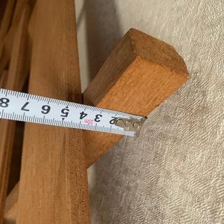 再値下げ 木製スノコ 2枚組 - 家具