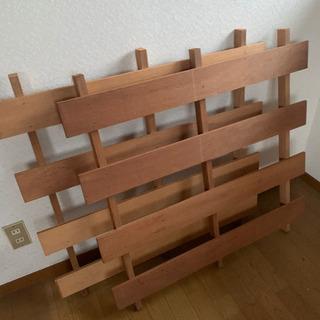 値下げ 木製スノコ 2枚組