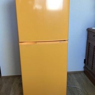 アクア 冷蔵庫 黄色 AQUA AQR-141A(D)