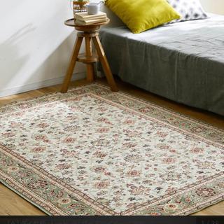 ベルギー産 ペルシャ絨毯風 ラグ