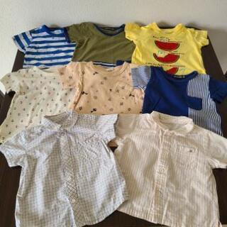 男児Tシャツ(80㎝~90㎝)8点セット