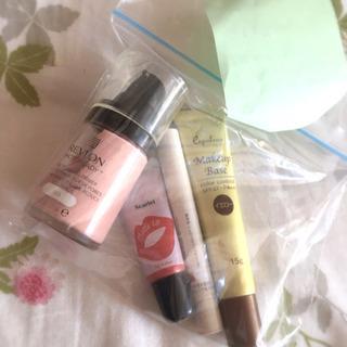 化粧品4点 Revlon/無印良品