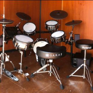 豪華◆本格電子ドラムローランド最高機種ドラムセット(プロ仕様)
