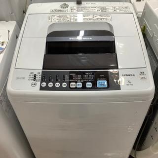 安心の6ヶ月保証付!! 【日立 15年製】 全自動洗濯機 【トレ...