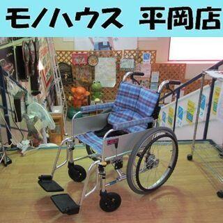 折りたたみ車椅子 自走式 Nick オリジナル強化アルミ7003...