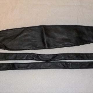 (差し上げます)未使用 黒のベルト