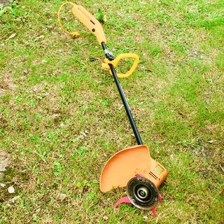 【ネット決済】刈る刈るボーイ   家庭用草刈機  〈3枚羽  電...