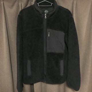 UNIQLO メンズフリーズジャケット黒 Mサイズ