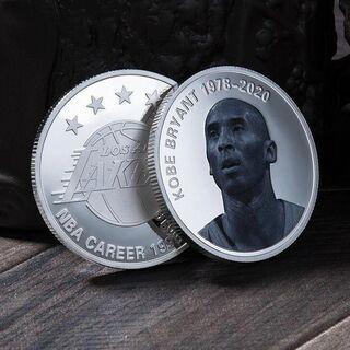 【限定品】コービー・ブライアント シルバーの記念コイン
