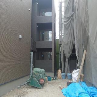 住宅の外壁工事です。
