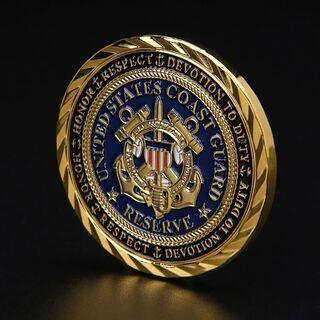 【非売品・記念品】アメリカ合衆国海上保安庁のチャレンジコイン