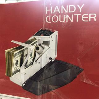 未開封 簡単 ハンディ マネー カウンター 紙幣 自動 計算 在庫限り