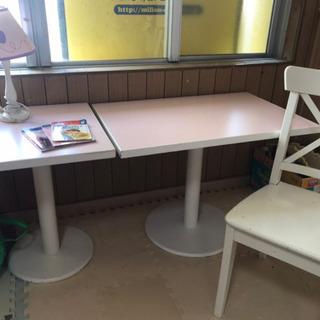 【閉店セール】ピンクテーブル 椅子