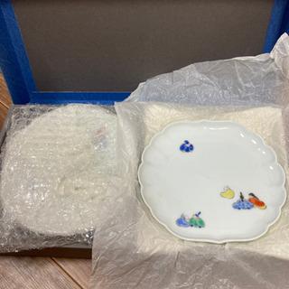 深川製磁 菊中割和皿揃 和皿 5枚