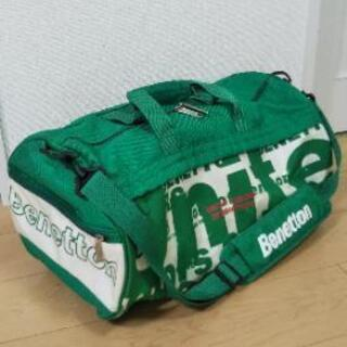 【Benetton】ドラムバッグ