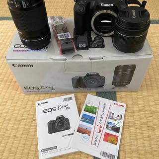 Canon EOS kiss 9 ダブルズームキット シリコンカ...