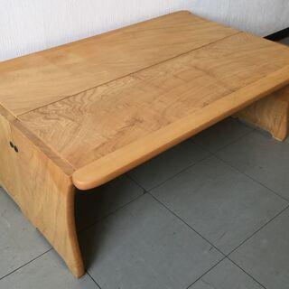 木製多目的長椅子2個組