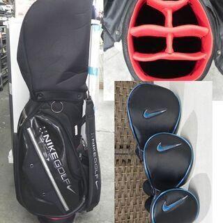 NIKE ゴルフクラブ フルセット SLINGSHOT/スリングショット メンズ 右利き用 ヘッドカバー×3 キャディバッグ(フード有 6分割)付き 札幌 白石区 東札幌 - 売ります・あげます
