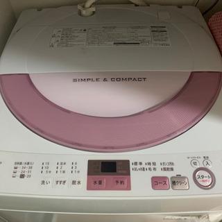 洗濯機(SHARP 2016年製)
