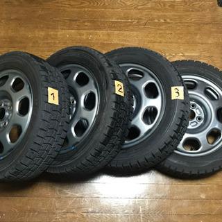 スタッドレスタイヤセット 165/60R15