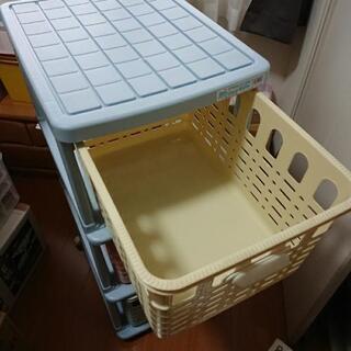 チャイルドバスケットラック三段 - 子供用品