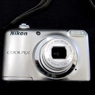 ニコン☆デジタルカメラ COOLPIX A10 クールピクス 単三電池2本使用 Nikon 札幌東区 - 家電