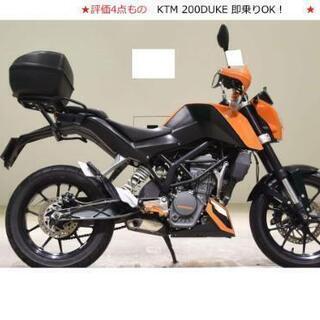 ★ 美車 KTM200 DUKE デューク 実働 即乗り 評価4...