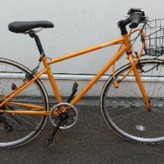 ★交渉完了★自転車(オレンジ)身長155cm~170cmの方向け...