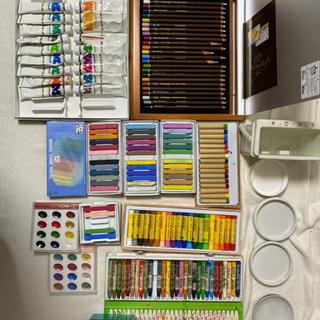 絵の具・色鉛筆・クレヨンセット
