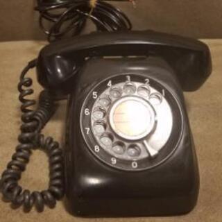 黒電話 600型 アンティーク