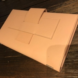 ノート型 レザーカバー付きメモ帳