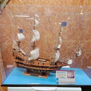 デアゴスティーニ社サン・ファン・バウティスタ号 帆船模型完成品 ...