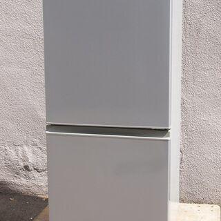 ⑫【6ヶ月保証付】美品 アクア 157L 2ドア冷蔵庫 AQR-...