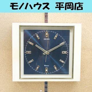 昭和レトロ セイコー ビブロン 音叉式 振動子時計 VBX-11...