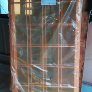 障子 未使用品 掃き出し窓 1757×1718×30