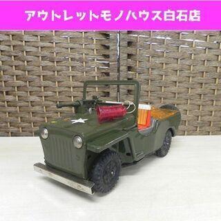 希少 当時物 多田製作所 JEEP/ジープ グリーン 自動車 玩...