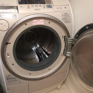 【9月30日まで掲載】日立ヒートサイクル ドラム式洗濯機 状態悪