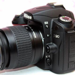 ❤スマホ転送❤初心者おすすめ❤️Nikon D90 レンズセット