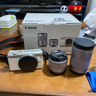 Canon EOS M100 Wズームキット WH